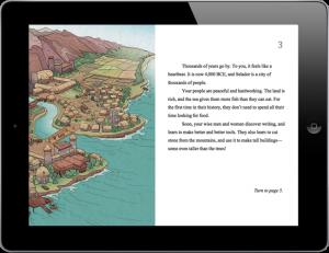 A screenshot from one of the Akama-ii titles.