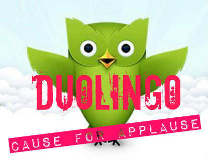 duolingo case for applause